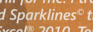 Tufte sparkline Microsoft Excel copyright claim