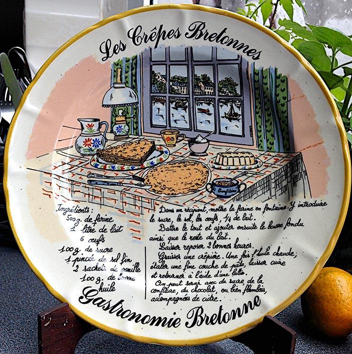 Les Crepes Bretonnes  recipe plate
