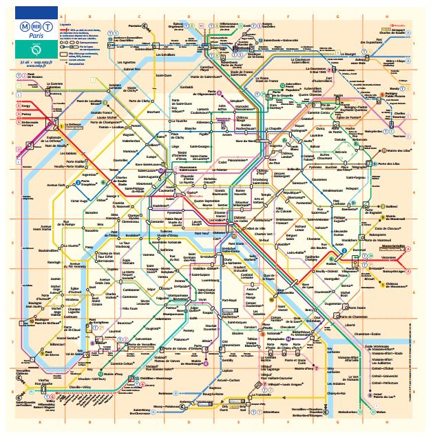 Le grand classique de la RATP