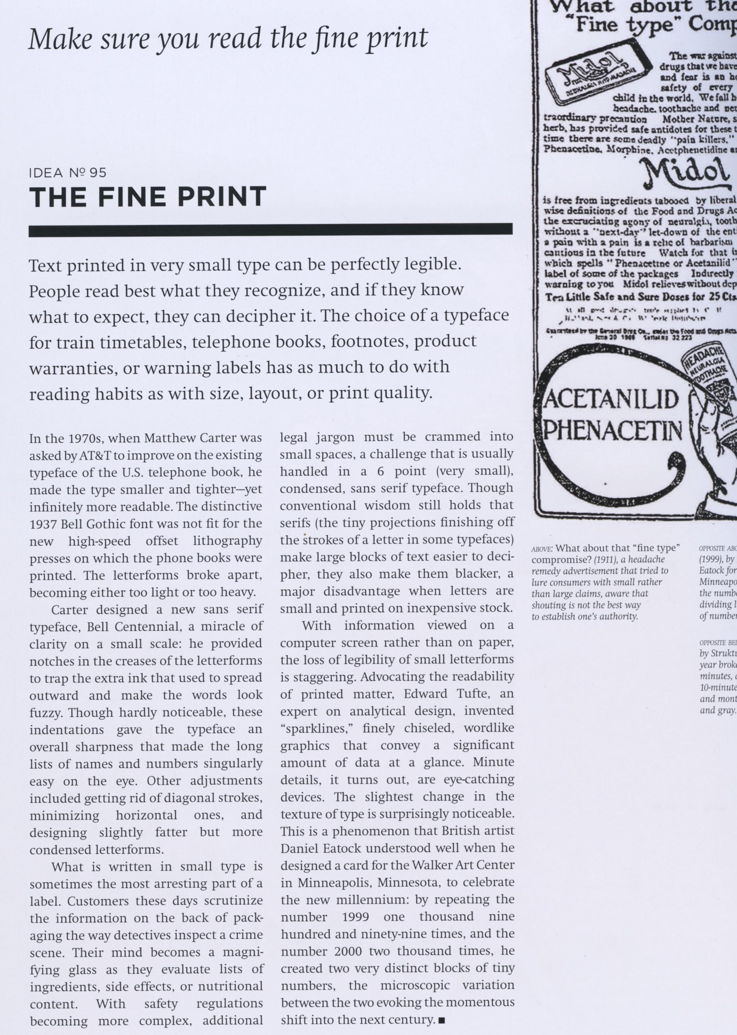 The Fine Print, p. 196