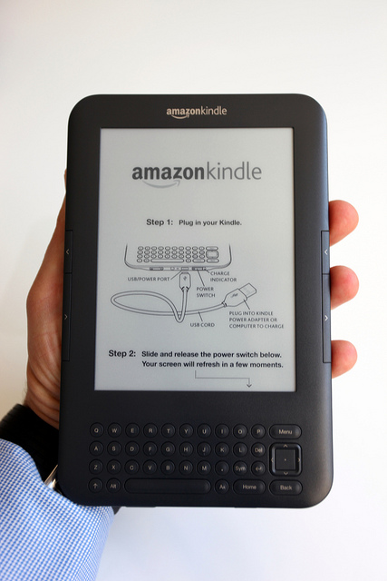 unboxing the Kindle