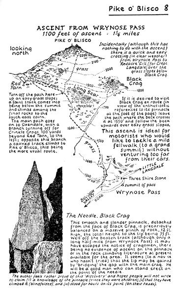 Wainwright walking guide