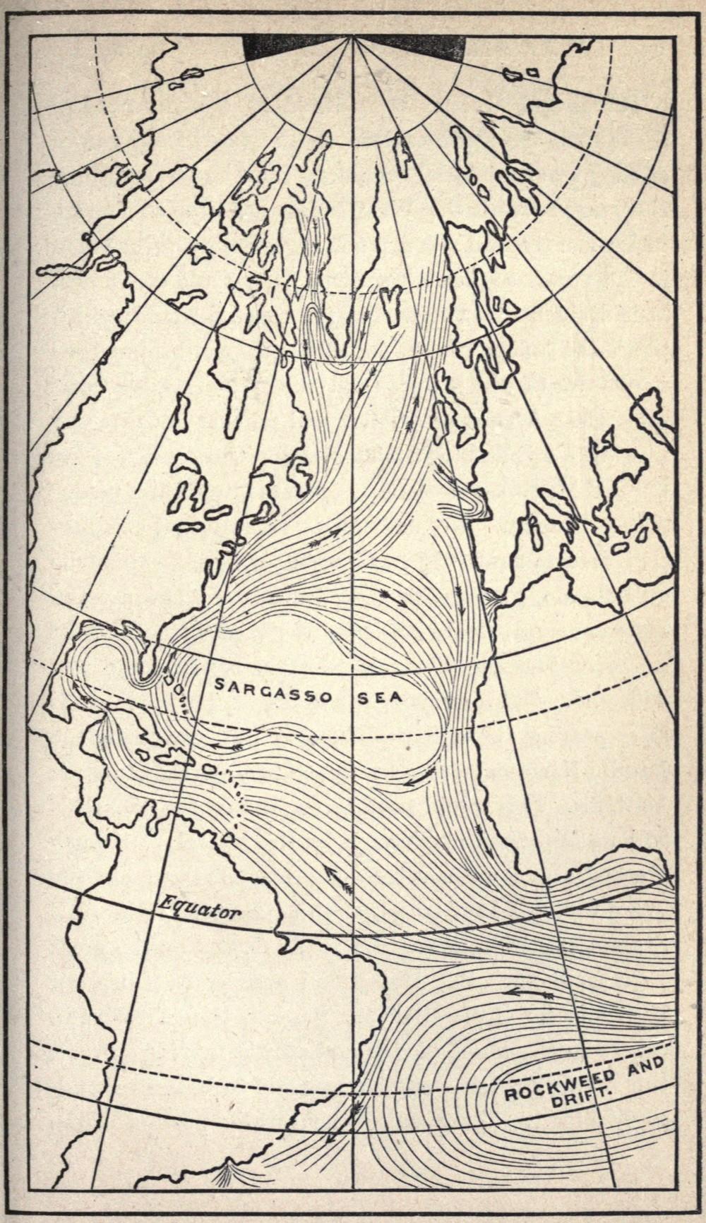Gulf Stream map